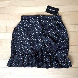 Pretty Little Thing Polkadot skirt